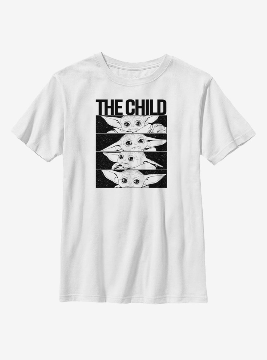 Star Wars The Mandalorian The Child Space Box Child Youth T-Shirt