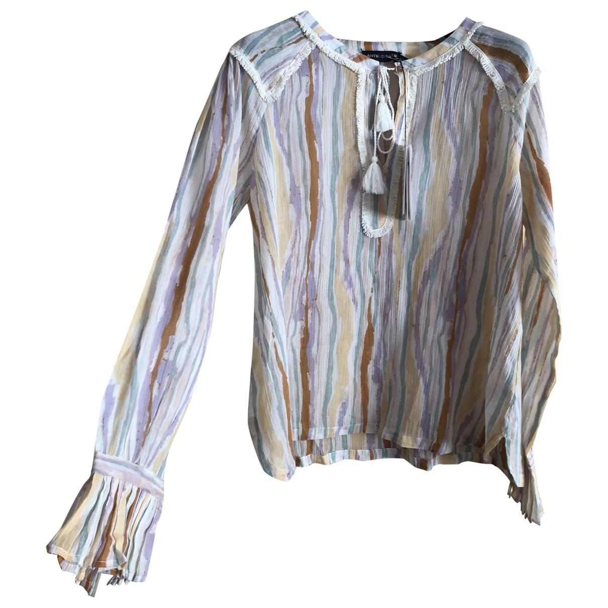 Antik Batik \N Multicolour Cotton  top for Women 38 FR