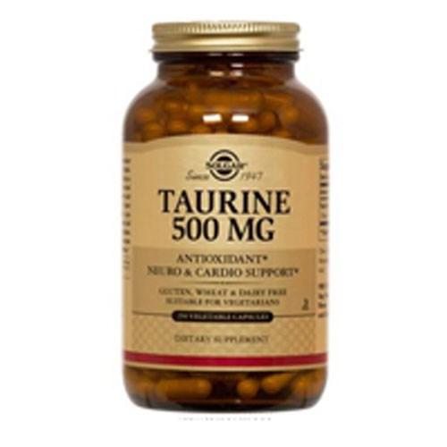 Taurine 100 V Caps by Solgar