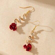 Flower Decor Earrings