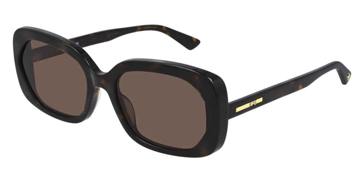 McQ MQ0274S 002 Women's Sunglasses Tortoise Size 58 - Free RX Lenses