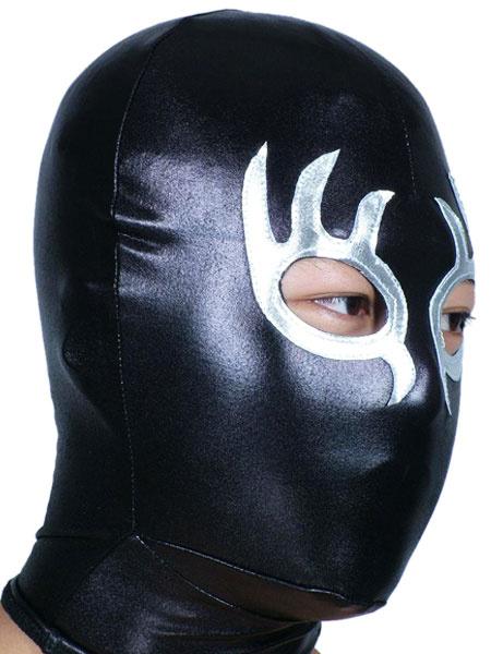 Milanoo Disfraz Halloween Mascara metalico brillante de dos tonos Halloween