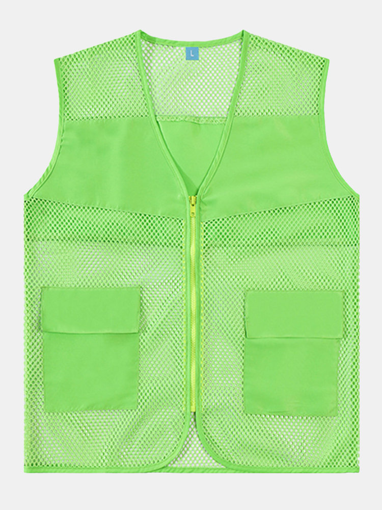 Mesh Outdoor Casual Thin Fishing Photography Vest for Men