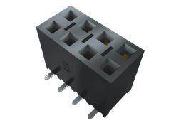 Samtec , SSM 2.54mm Pitch 16 Way 1 Row Vertical PCB Socket, Surface Mount, Solder Termination (14)