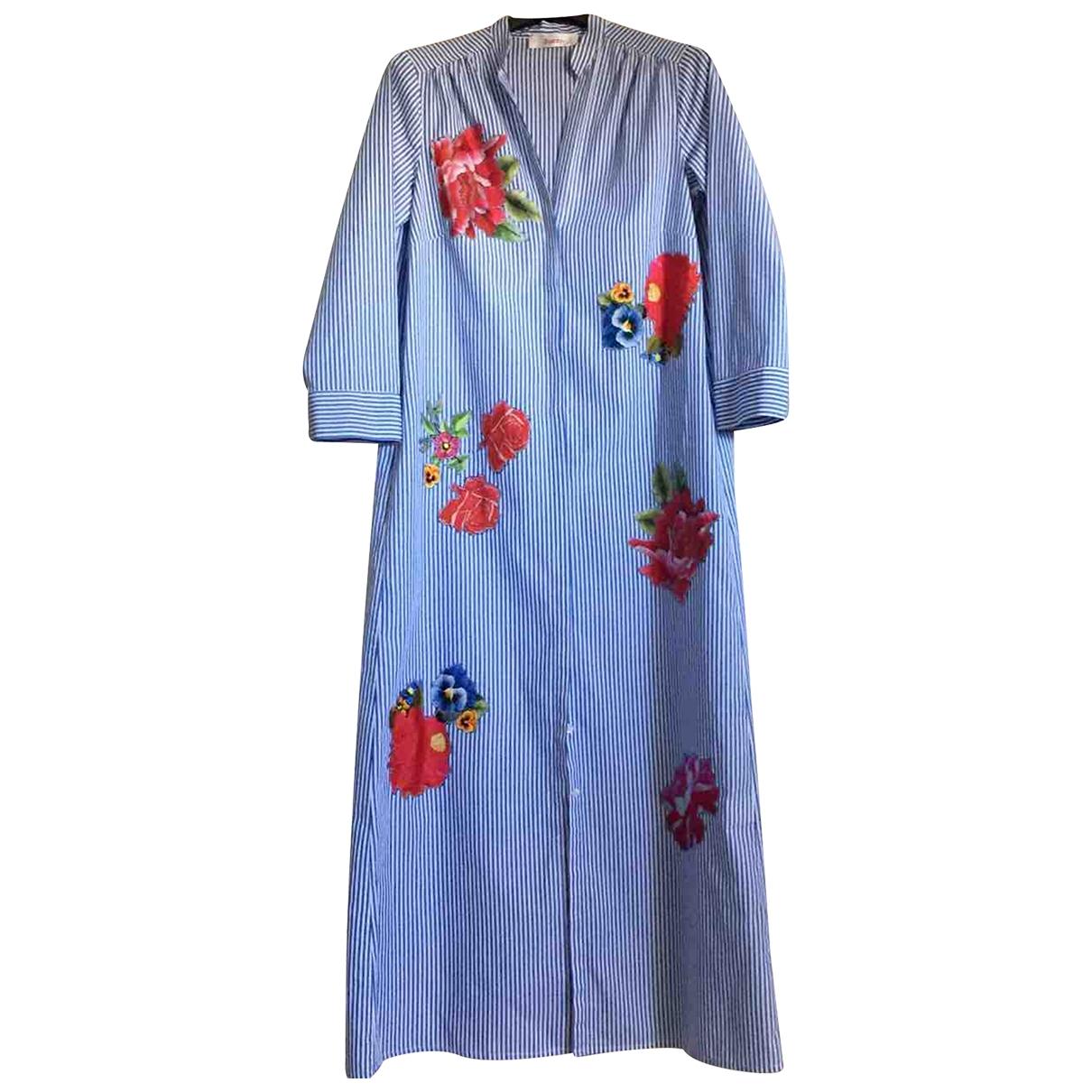 Jucca \N Kleid in  Blau Baumwolle