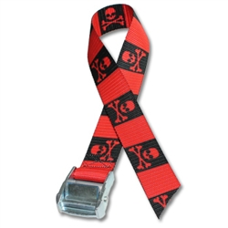 Metal Cam Straps w/ 2 inch Patterned Polyester