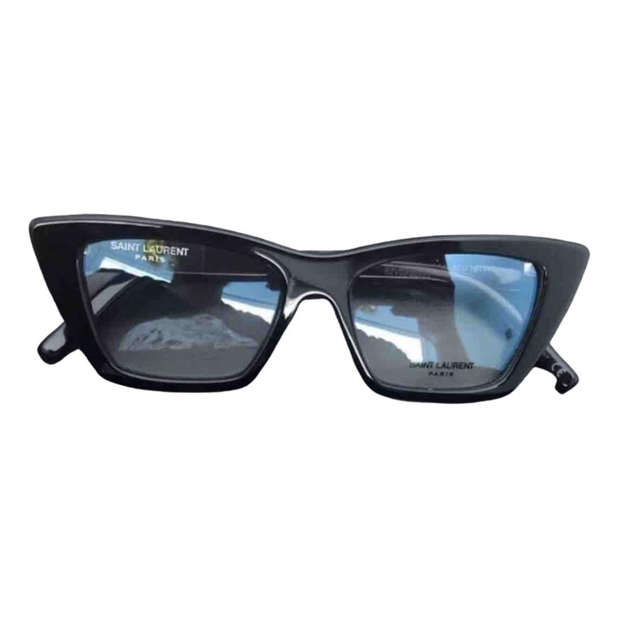 Saint Laurent New Wave Black Sunglasses for Women \N