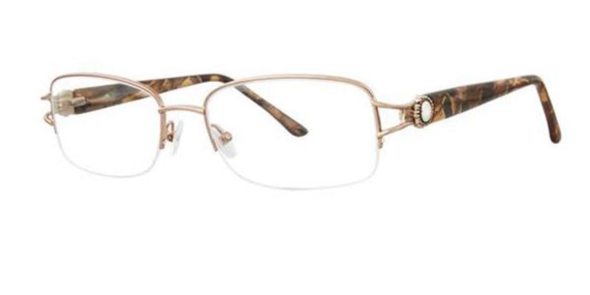 Dana Buchman SWEET PEA Gold Men's Glasses Gold Size 52 - Free Lenses - HSA/FSA Insurance - Blue Light Block Available