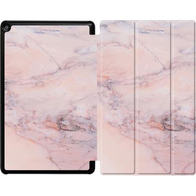 Amazon Fire HD 10 (2018) Tablet Smart Case - Blush Marble von Emanuela Carratoni