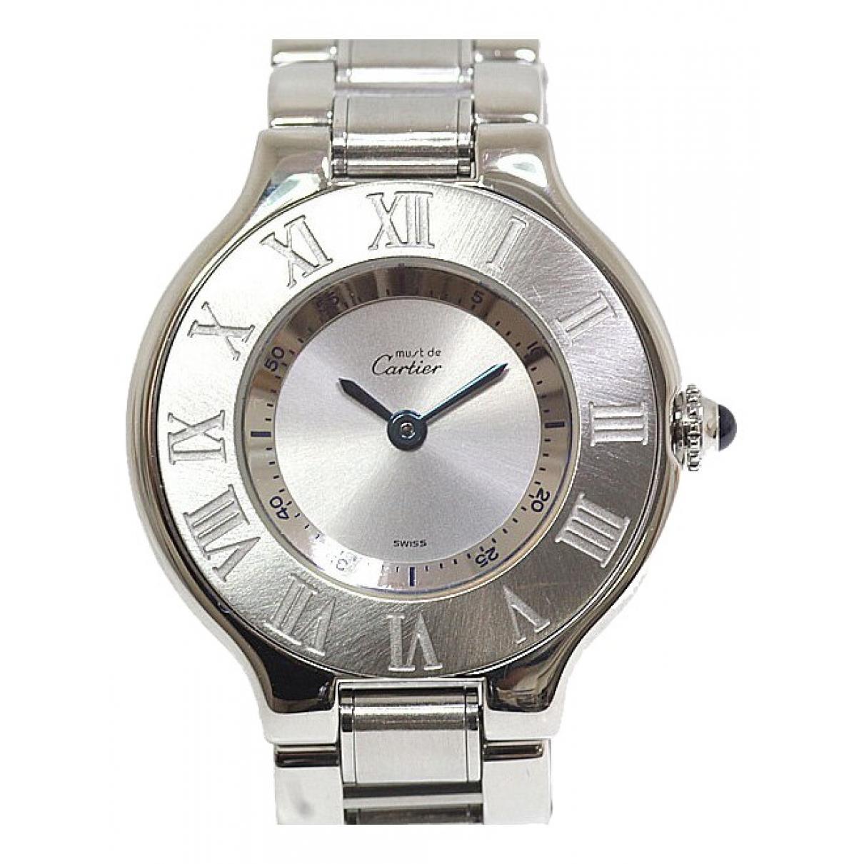 Reloj Must 21 Cartier