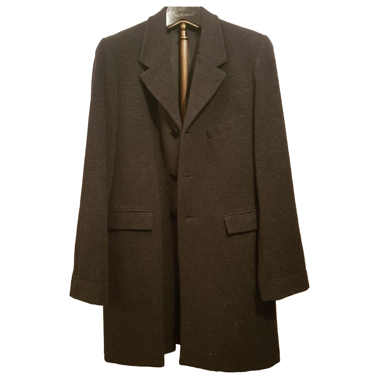 Agnes B. - Manteau   pour homme en laine - anthracite