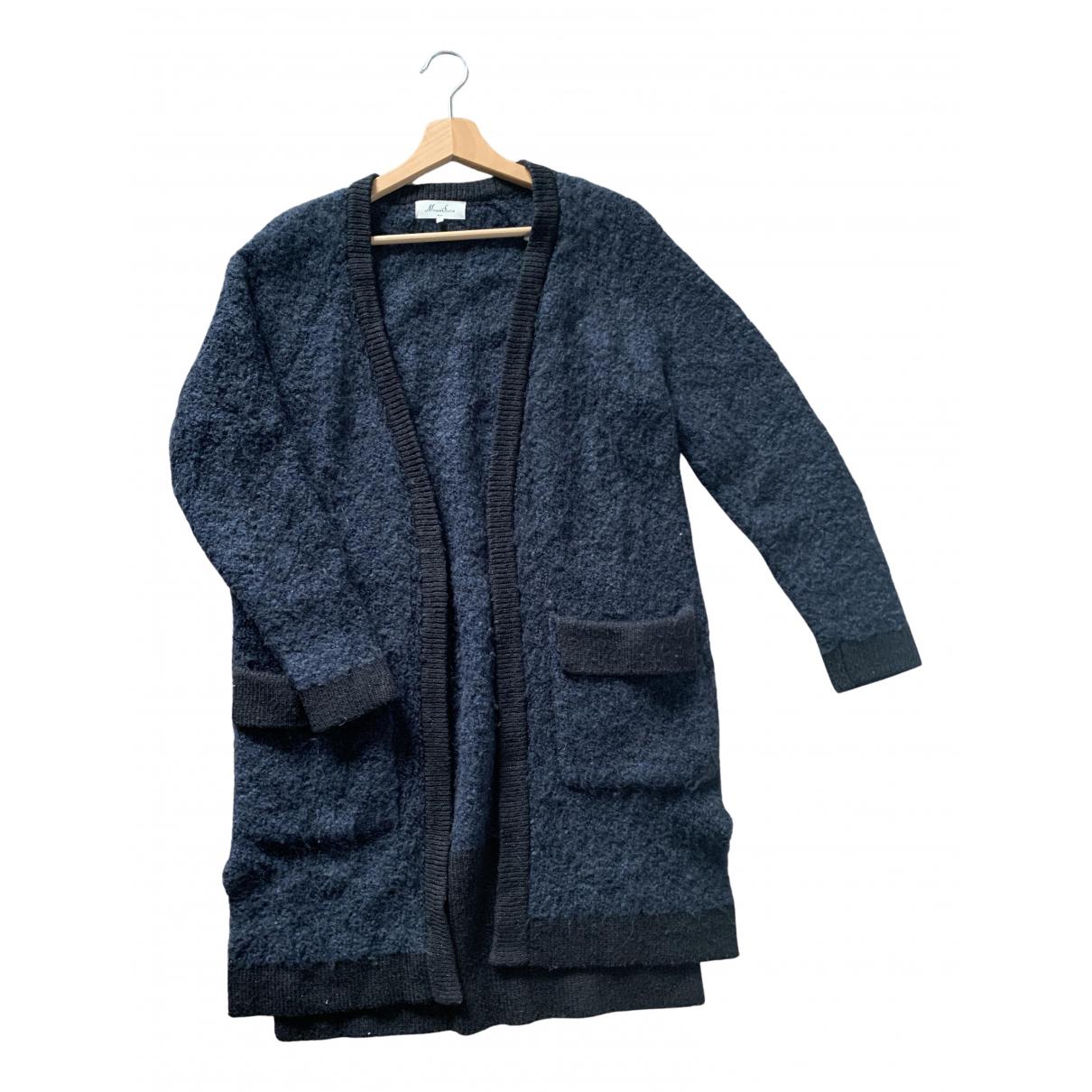 Marie Sixtine - Pull   pour femme en laine - bleu