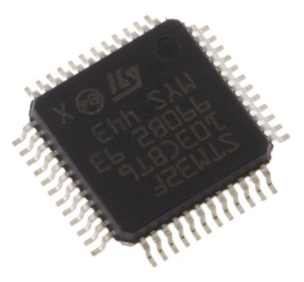 STMicroelectronics STM32L051C8T6, 32bit ARM Cortex M0+ Microcontroller, STM32, 32MHz, 64 kB Flash, 48-Pin LQFP (2)