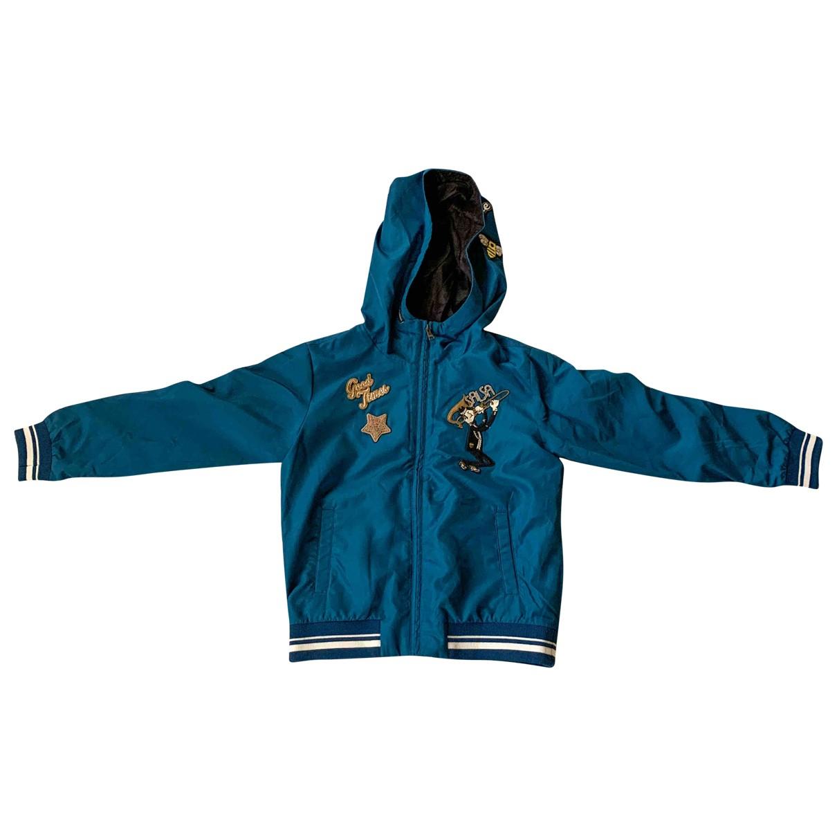 Dolce & Gabbana - Blousons.Manteaux   pour enfant - bleu