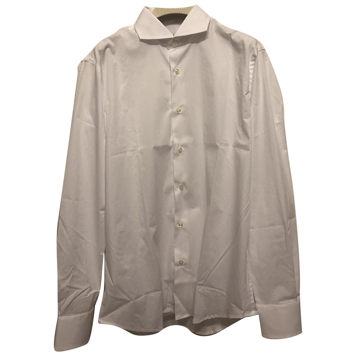 Trussardi \N White Cotton Shirts for Men M International