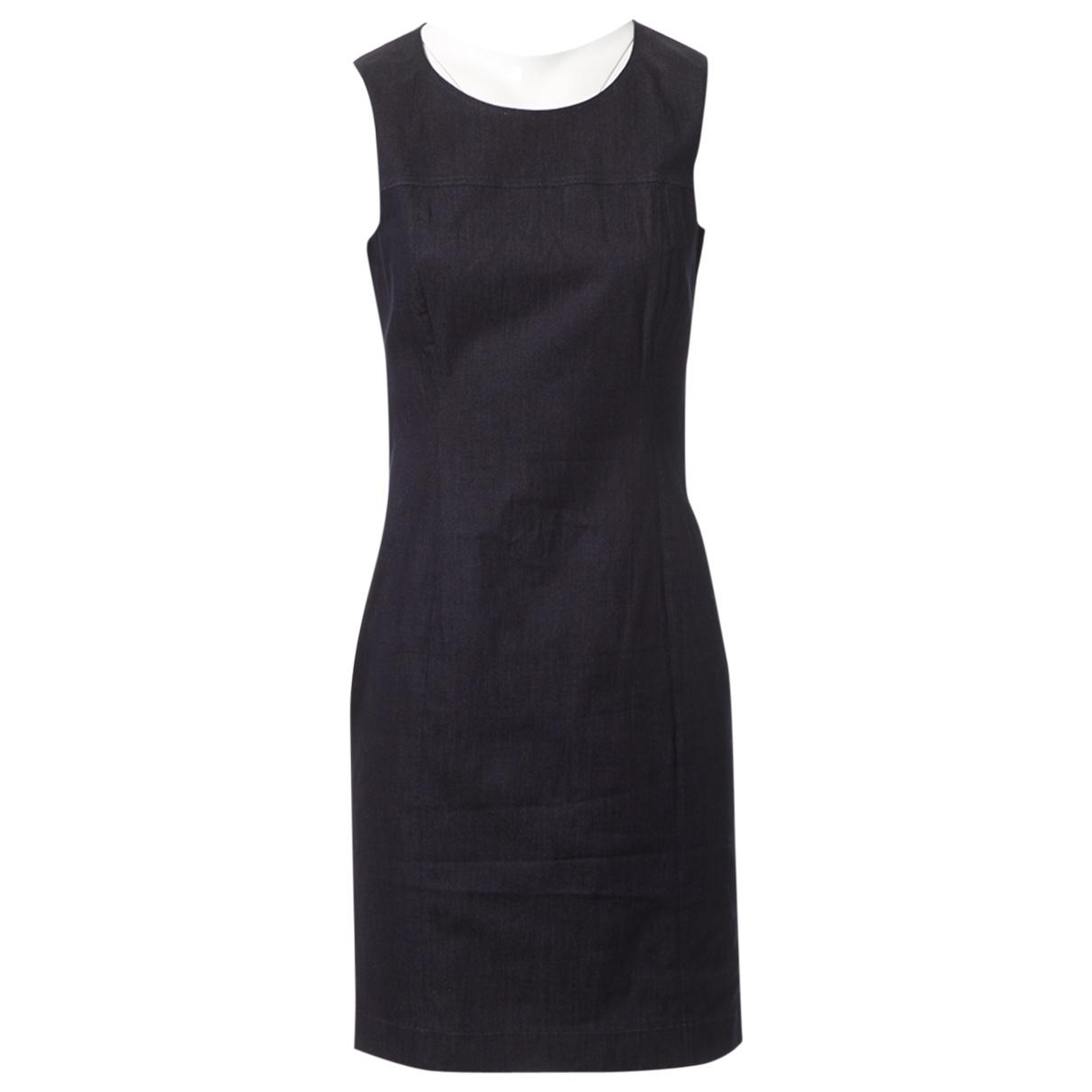 Prada \N Navy Cotton dress for Women 44 IT