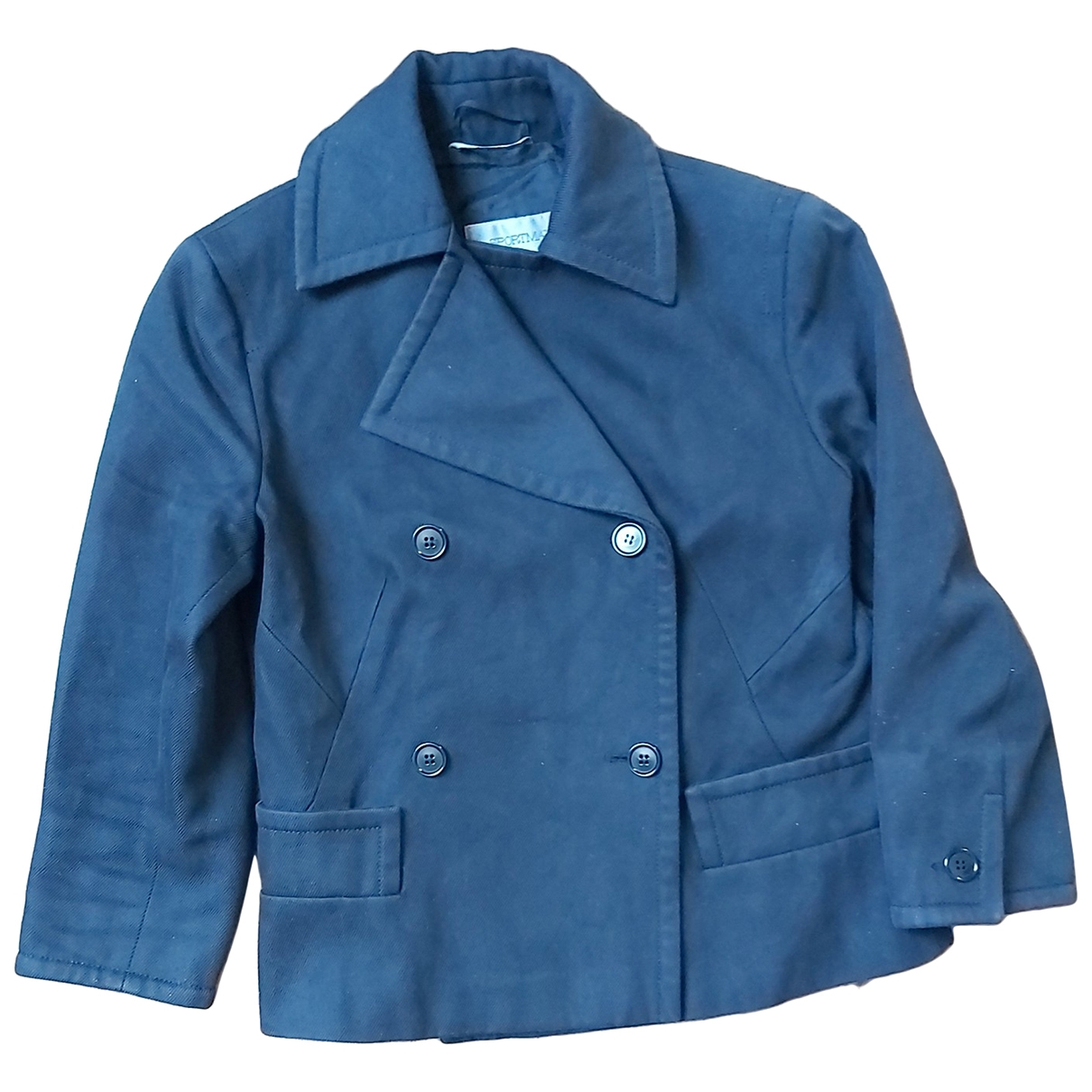 Sport Max \N Black Cotton jacket for Women 40 IT