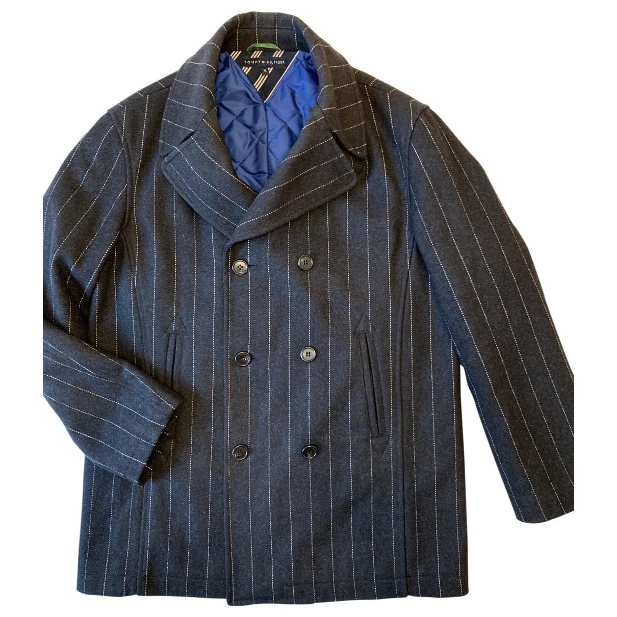 Tommy Hilfiger \N Grey Wool coat  for Men XL International