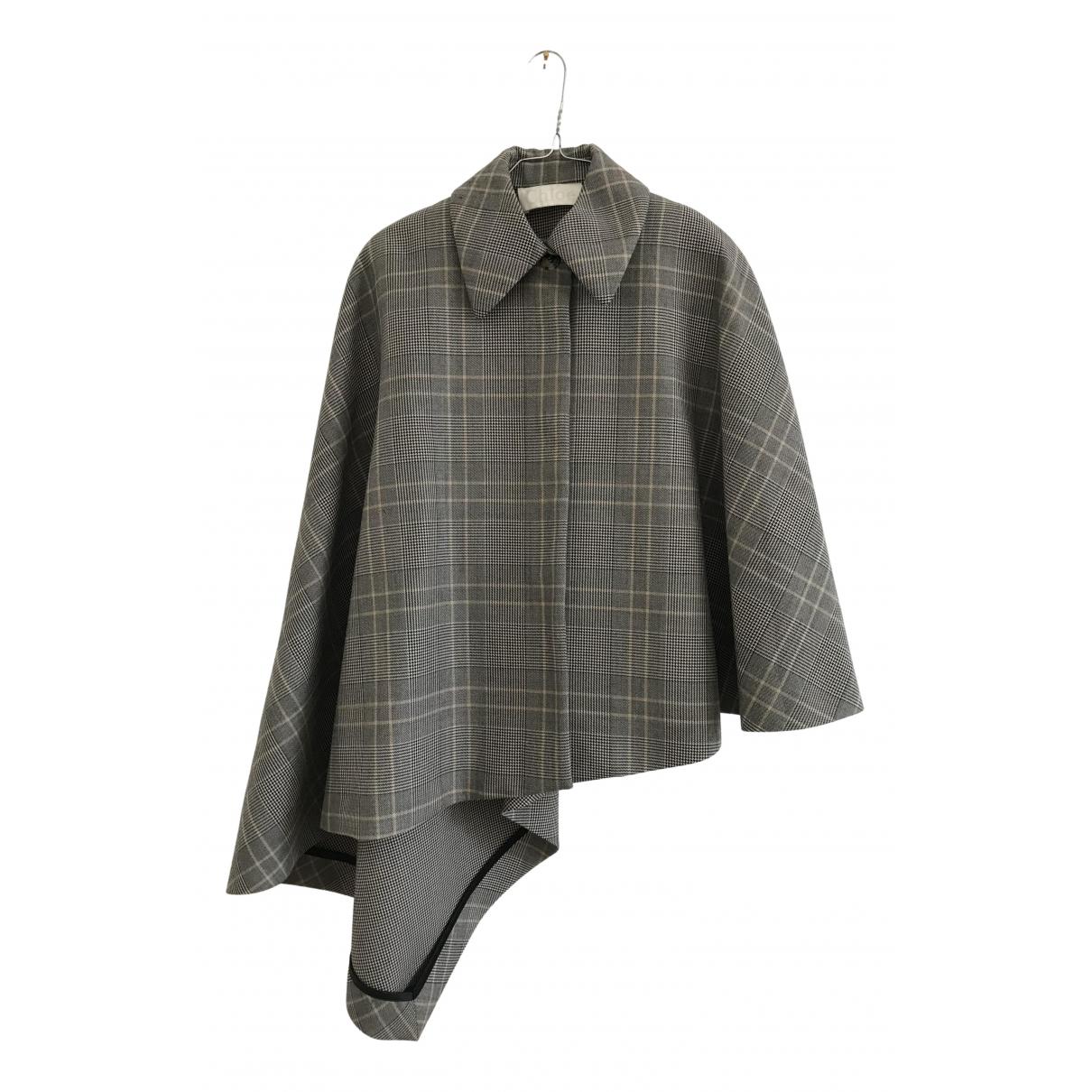 Chloé \N Grey Wool coat for Women M International