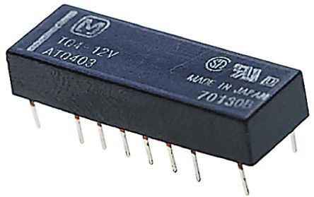 Panasonic DPDT PCB Mount Latching Relay - 2 A, 24V dc