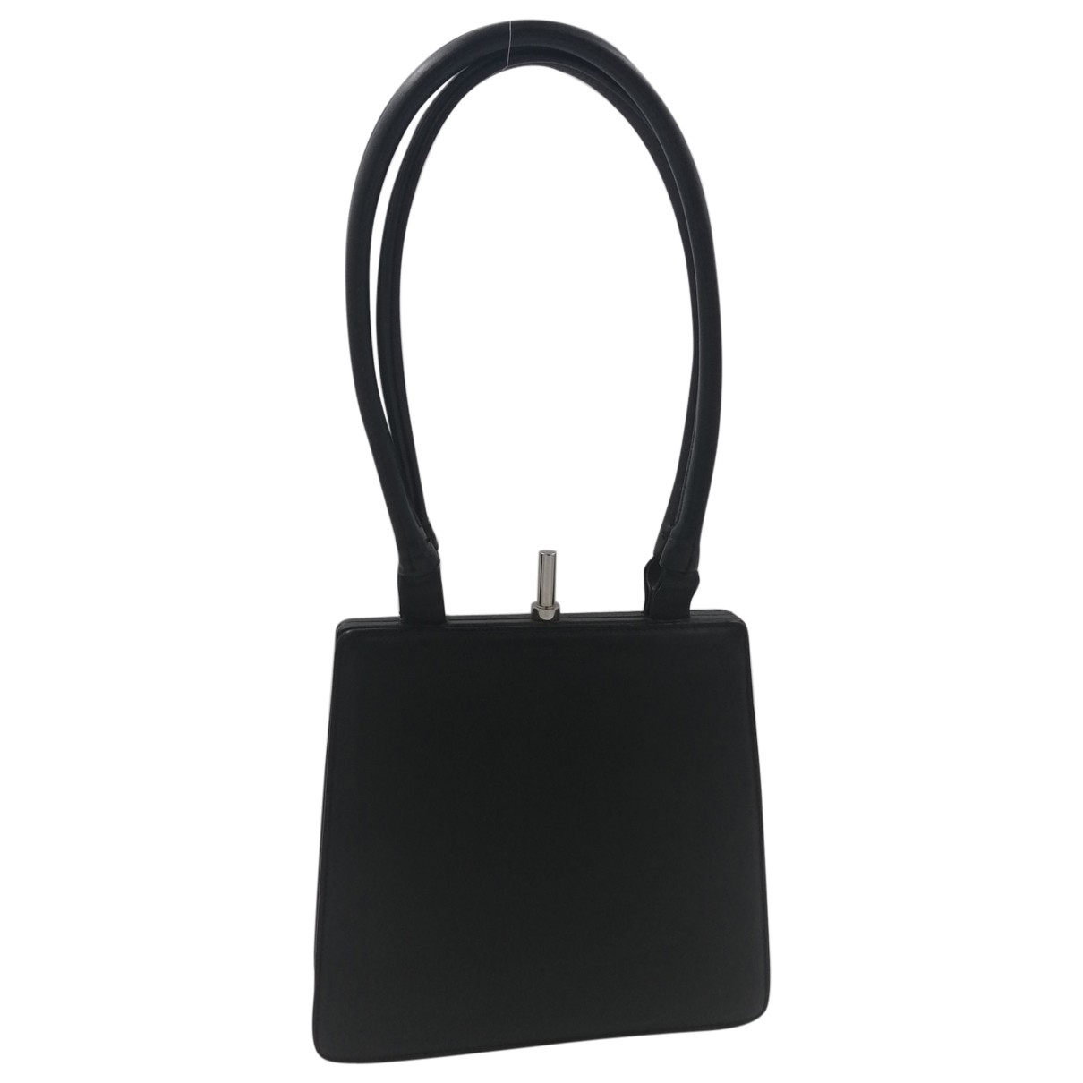 Fausto Santini \N Black Leather handbag for Women \N