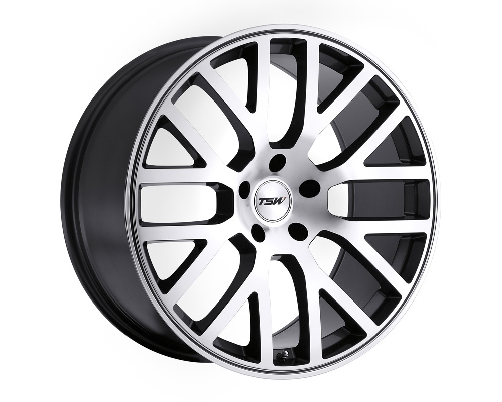 TSW Donington Wheel 17x8 5x112 32mm Gunmetal w/ Mirror Cut Face