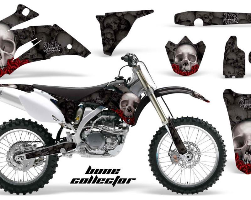 AMR Racing Dirt Bike Graphics Kit Decal Wrap For Yamaha YZ250F YZ450F 2006-2009áBONES BLACK