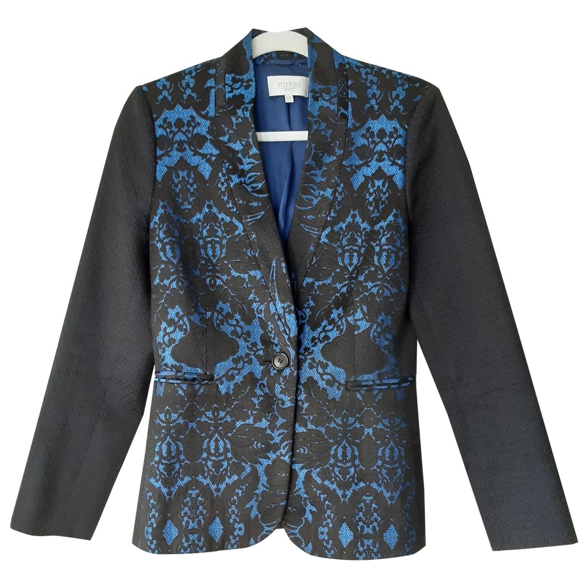 Hobbs \N Blue Cotton jacket for Women 10 UK