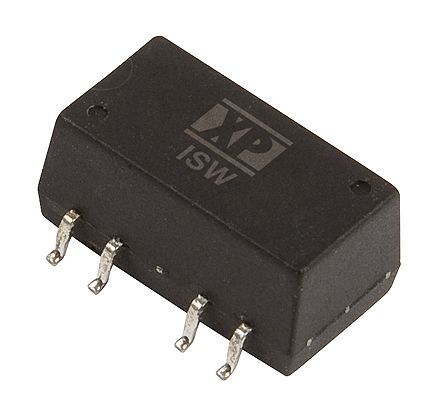 XP Power ISW 1W Isolated DC-DC Converter Surface Mount, Voltage in 11.4 → 12.6 V dc, Voltage out 5V dc