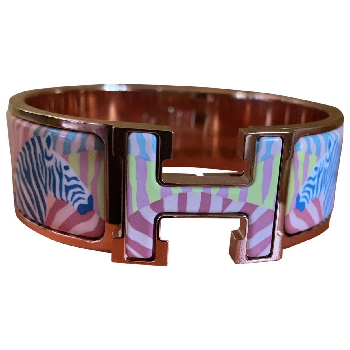 Hermes - Bracelet Clic H pour femme en metal