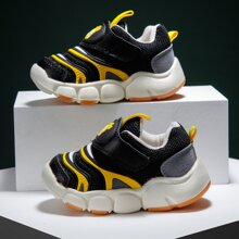 Kleinkind Jungen Sneakers mit Farbblock und Klettverschluss