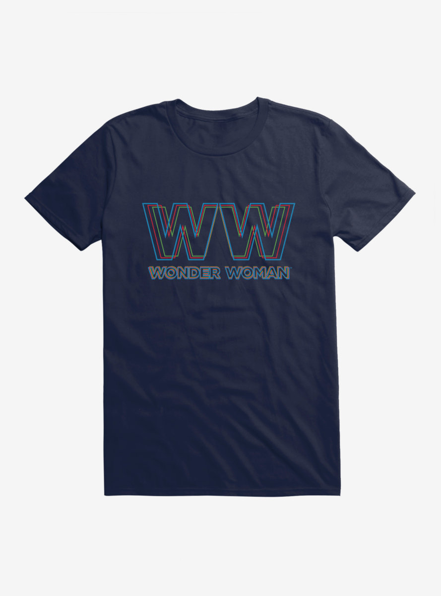 DC Comics Wonder Woman 1984 Double Logo T-Shirt