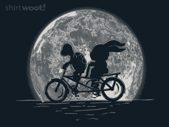 Tortoise And Hare In Tandem T Shirt