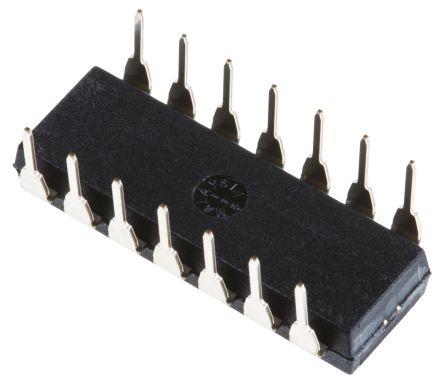 Texas Instruments PGA202KP , Instrumentation Amplifier, 2mV Offset, 14-Pin PDIP