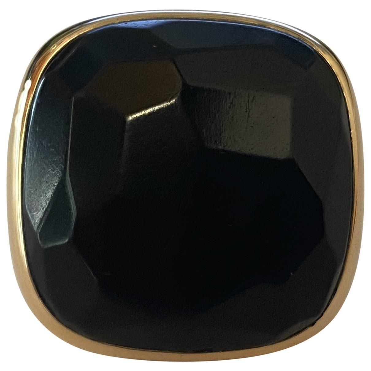 Pomellato - Bague Victoria pour femme en or rose - noir