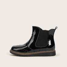 Maedchen Minimalistische Chelsea Stiefel
