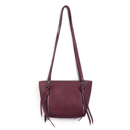 Yoins Tassel Embellished Shoulder Bag in Red