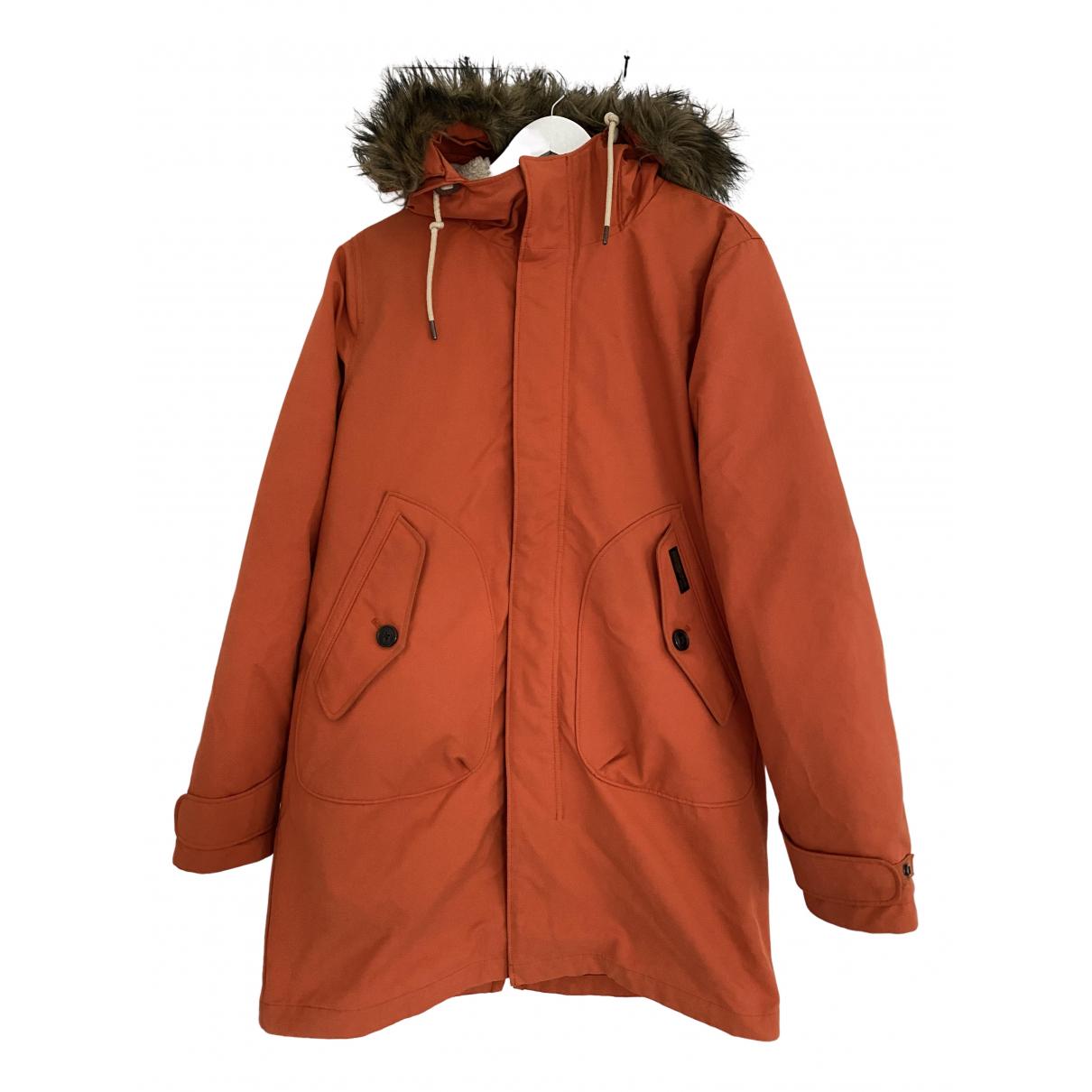 Abercrombie & Fitch - Manteau   pour homme - orange