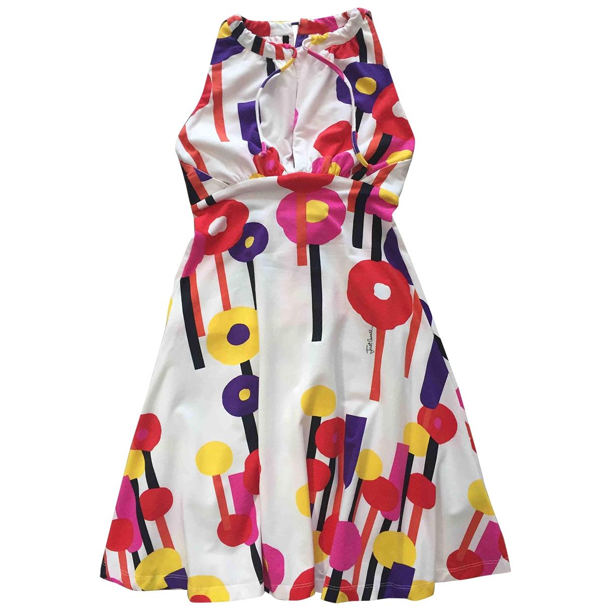 Just Cavalli - Robe   pour femme en coton - multicolore
