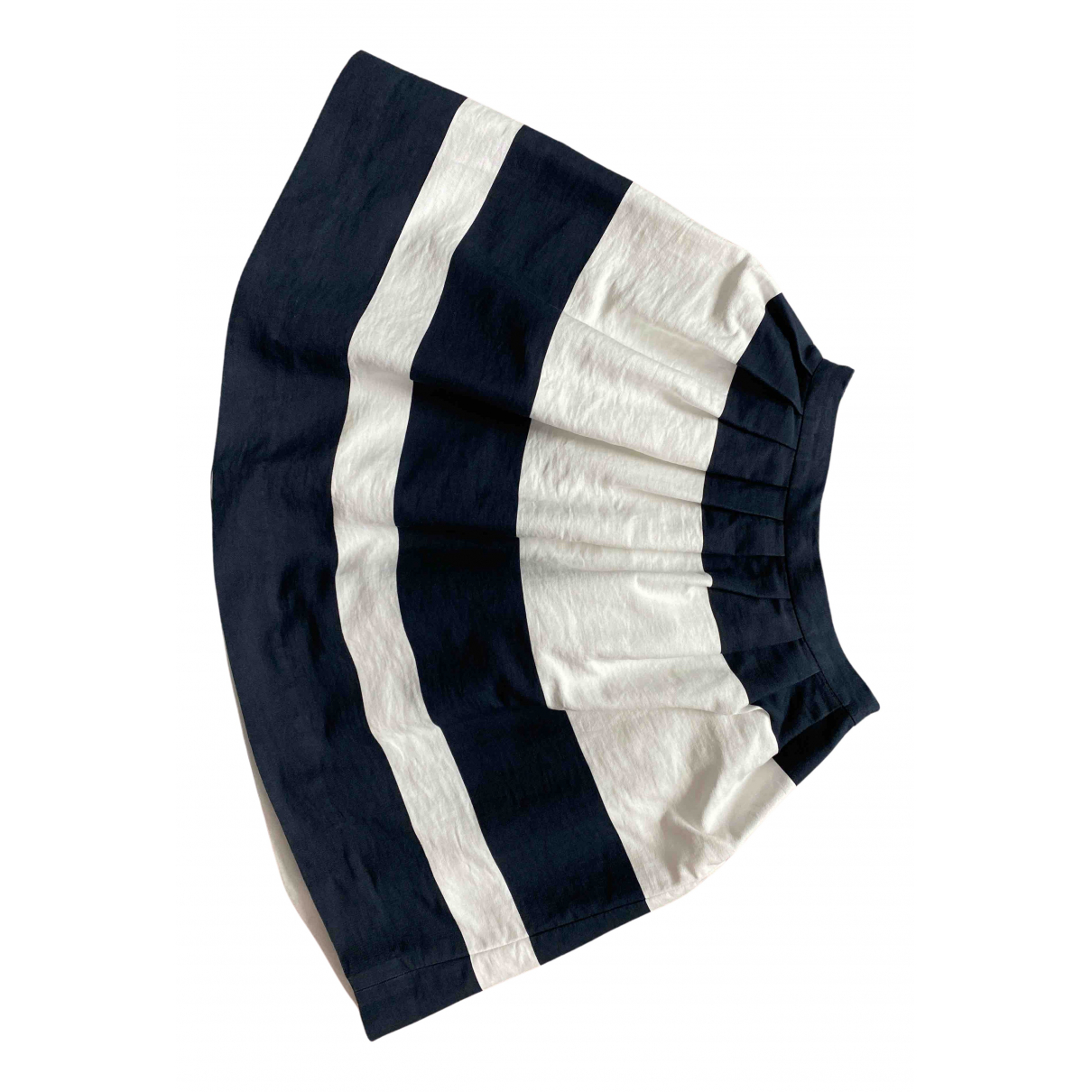 Bonpoint N Navy Cotton skirt for Kids 6 years - up to 114cm FR