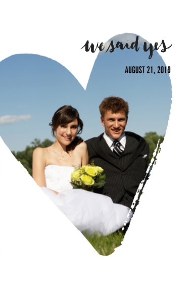 Wedding 20x30 Wood Panel, Home Décor -We Said Yes
