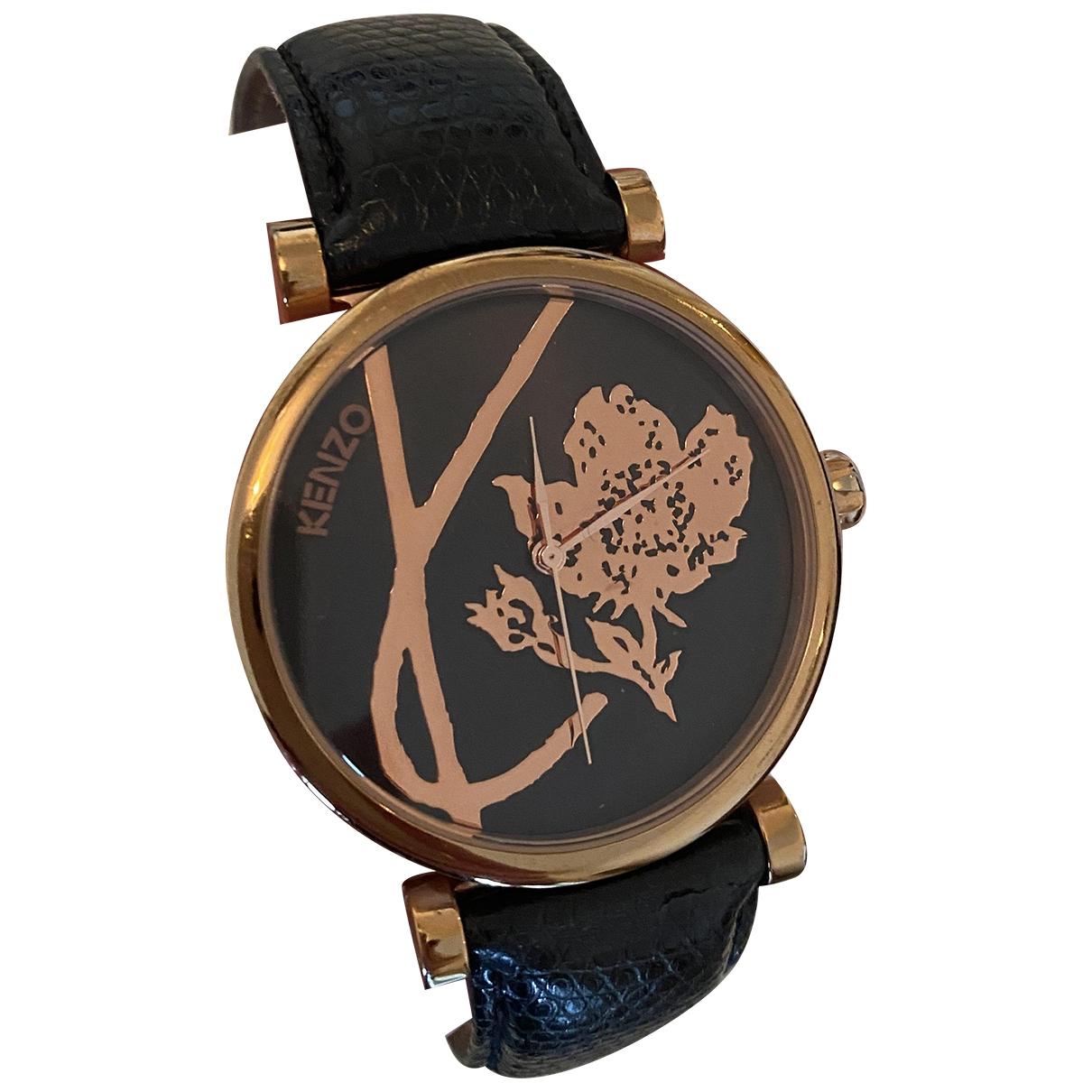 Kenzo \N Gold Steel watch for Women \N