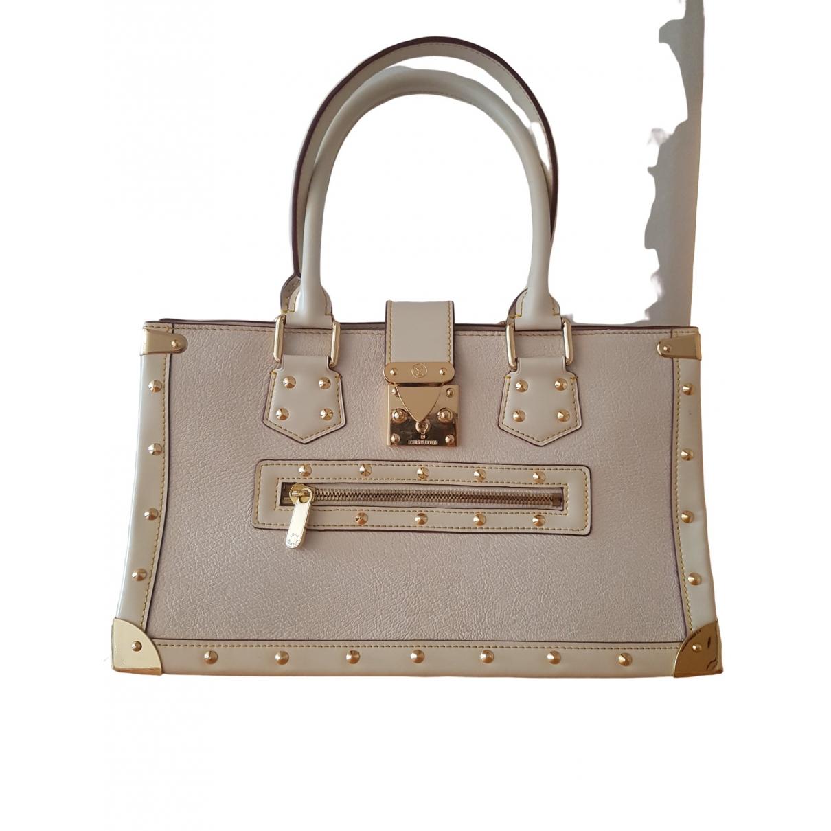 Louis Vuitton Le Fabuleux Handtasche in  Ecru Leder