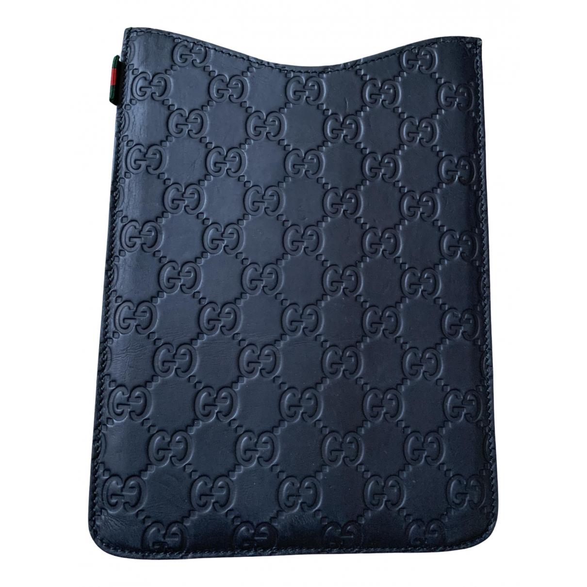 Gucci - Accessoires   pour lifestyle en cuir - noir