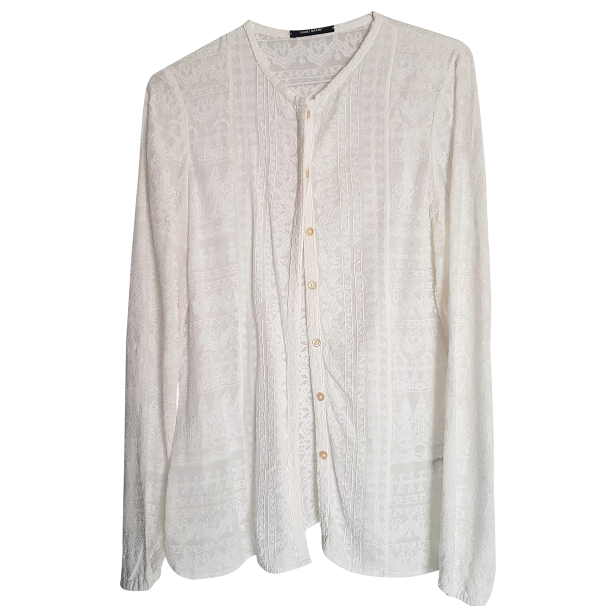 Isabel Marant \N White  top for Women 36 FR