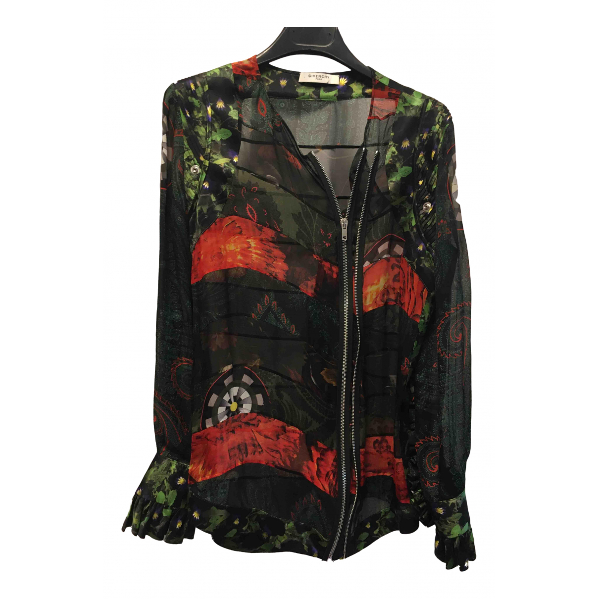 Givenchy \N Multicolour Silk  top for Women 38 FR