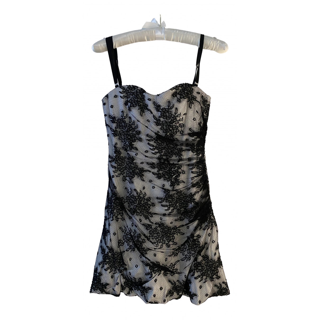 D&g - Robe   pour femme en coton - elasthane - blanc