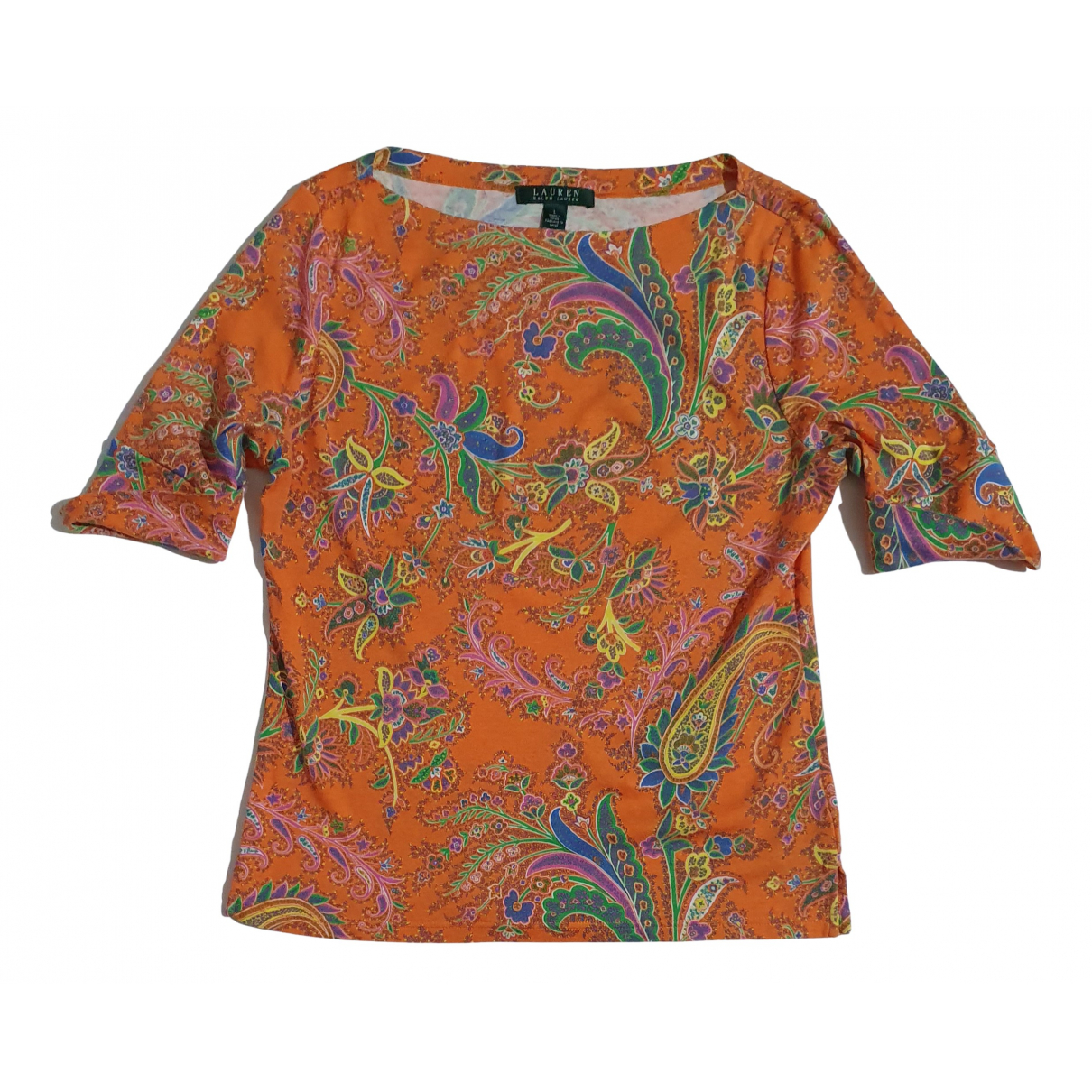 Lauren Ralph Lauren \N Multicolour Cotton  top for Women L International