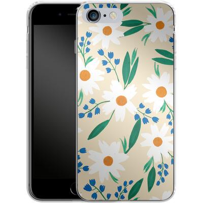 Apple iPhone 6 Plus Silikon Handyhuelle - Daisy Chain von Iisa Monttinen