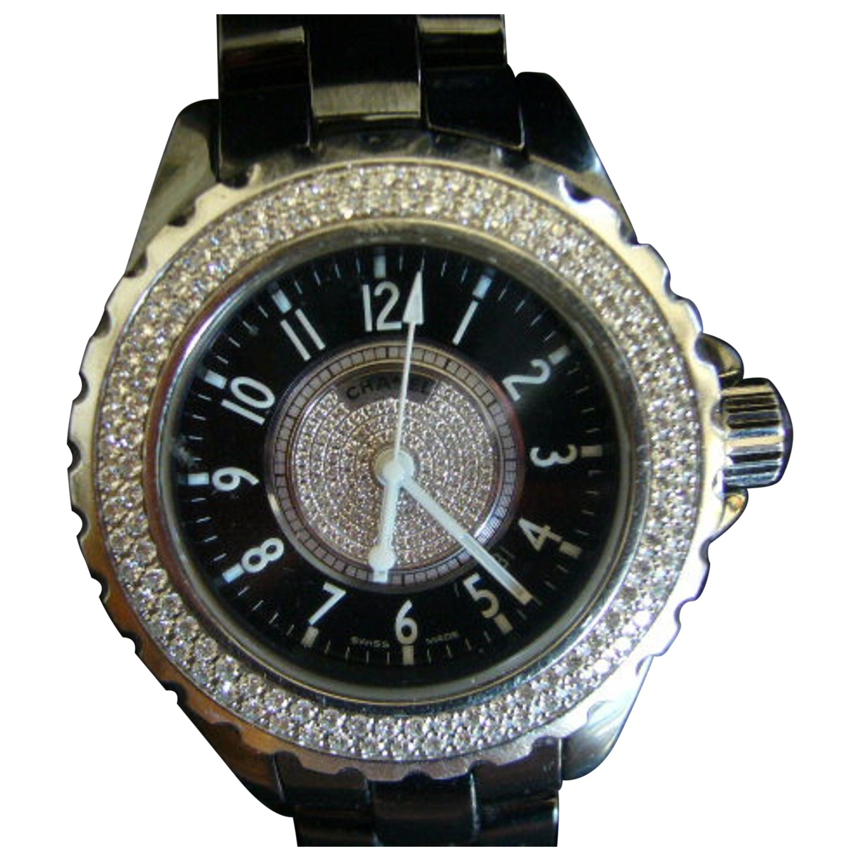 Chanel J12 Quartz Black Ceramic watch for Women \N